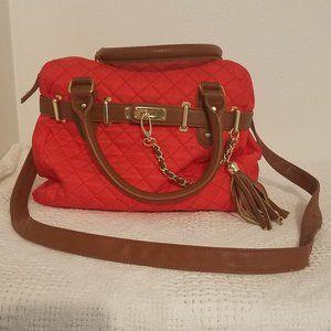 Steve Madden Red Handbag with Shoulder Strap